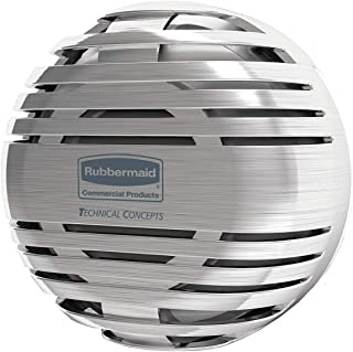 Rubbermaid Commercial 1972664 Air Care TCell 2.0 Dispenser, Brushed Chrome