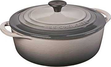 Le Creuset Shallow Dutch French Oven, 2.75 quart, Oyster