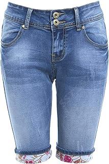 49a30477ad59f Amazon.fr : pantacourt femme jean - Shorts et bermudas / Femme ...