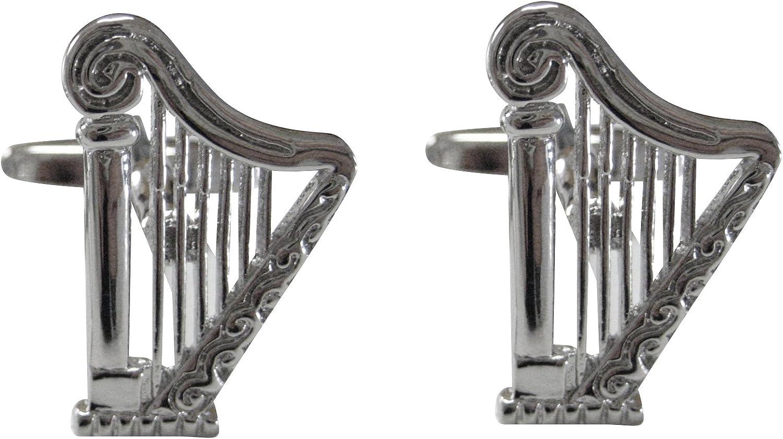 Musical Harp Cufflinks