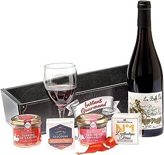 """Ducs de Gascogne - Coffret gourmand""""La Vie en Rouge"""" - comprend 5 produits dont un vin rouge - spécial cadeau (946422)"""