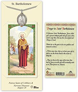 st bartholomew prayer card