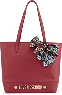 Love Moschino Accessories Logo Shopper With Scarf One Size RED
