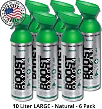 95% Pure Oxygen Supplement, Portable Canister of Clean Oxygen, Increases Endurance,..