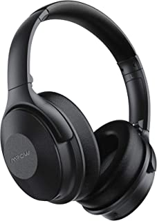 Mpow 45Hrs Active Noise Cancelling Headphones, H17 Bluetooth Headphones with Microphone, Over Ear, Quick Charge, Deep Bass...