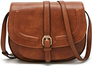 salvare 32207 7e20d Amazon.it: Pelle - Borse a tracolla / Donna: Scarpe e borse