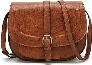 Forestfish Women's Crossbody Bags Saddle Purse Satchel Bag Tote Shoulder Handbags