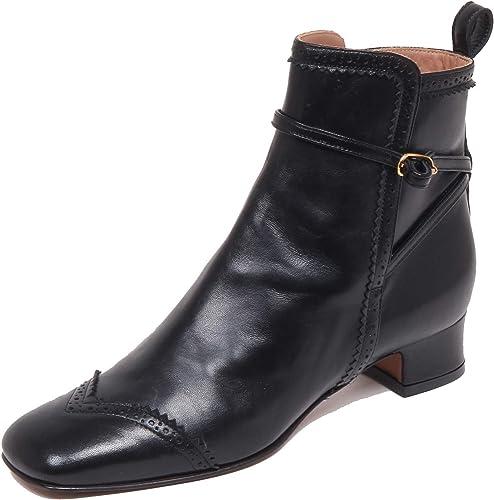 L'Autre Chose F6304 Tronchetto femmes noir Vintage démarrage chaussures Woman