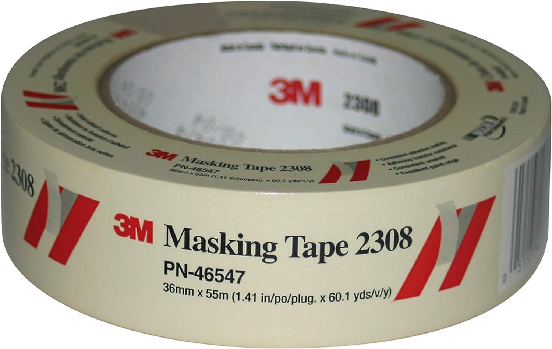 3M Masking Wholesale Tape 100% quality warranty 2308 46547 m mm 55 36 x