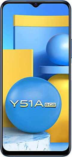Vivo Y51A (Titanium Sapphire, 8GB, 128GB Storage) with No Cost EMI/Additional Exchange Offers 1