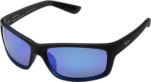 Matte Transparent Blue/Black Stripe/Blue Hawaii