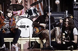 John Lennon on stage with Eric Clapton Mitch Mitchell and Keith Richards Photo Print (10 x 8)