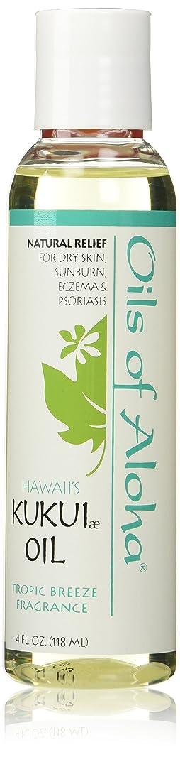 コンベンションひどいラボKukui Skin Oil /Tropic Breeze Fragranc/118ml4oz