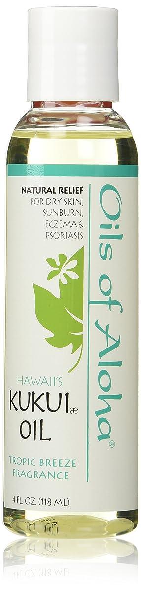 検出可能続編形式Kukui Skin Oil /Tropic Breeze Fragranc/118ml4oz
