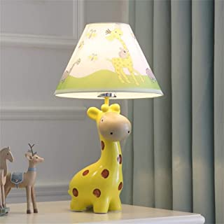 Lampes de Bureau Chambre d'enfants Dessin animé Jaune Girafe Lampe de Table Chambre Lampe de Chevet Mode créative Mignon C...