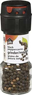 Club House, Quality Natural Herbs & Spices, Black Peppercorn, Grinder, 35g