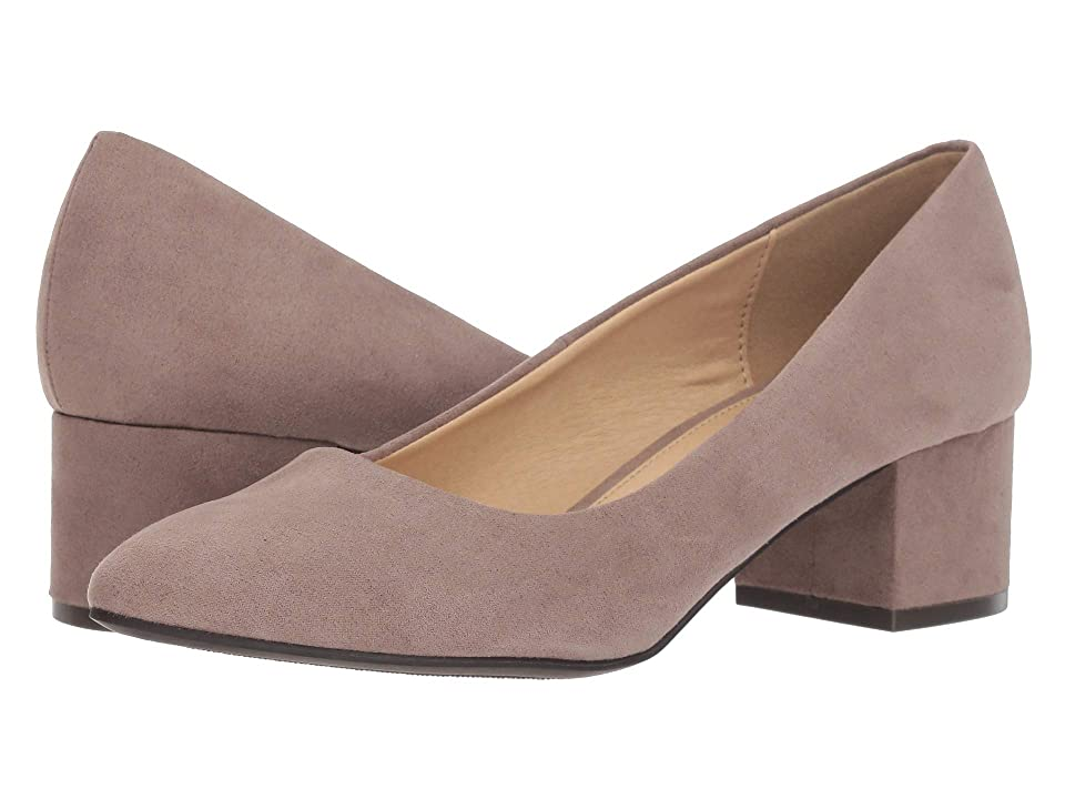 CL By Laundry Highest (Taupe Super Suede) High Heels