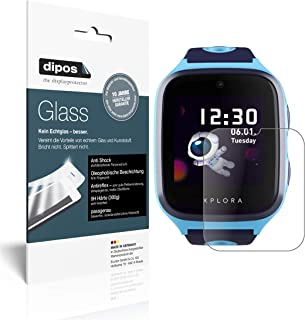 dipos I Protector de Pantalla Mate Compatible con Xplora X4 Vidrio Flexible Cristal Proteccion 9H