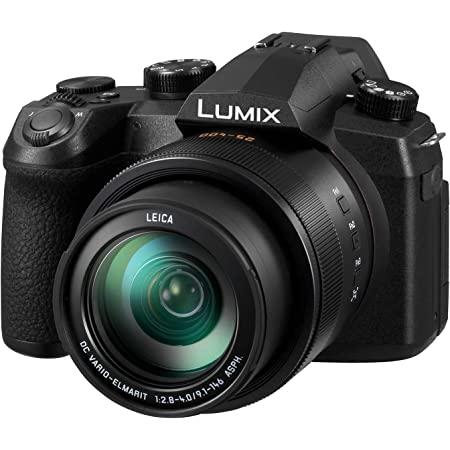 Panasonic LUMIX FZ1000 II 20.1MP Digital Camera, 16x 25-400mm LEICA DC Lens, 4K Video, Optical Image Stabilizer and 3.0-inch Display – Point and Shoot Camera - DC-FZ1000M2 (Black)