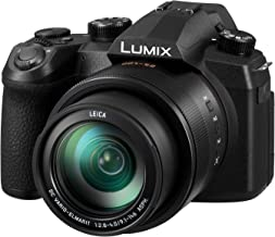 PANASONIC LUMIX FZ1000 II 20.1MP Digital Camera, 16x 25-400mm LEICA DC Lens, 4K Video, Optical Image Stabilizer and 3.0-inch Display – Point and Shoot Camera - DC-FZ1000M2 (Black)