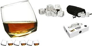 Sagaform Rocking Whiskey Glasses Pack of 6  Whiskey Stones