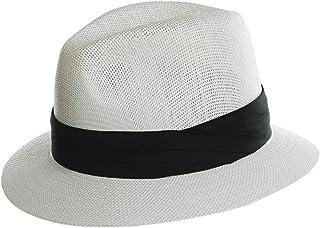 Bidetu Women Men Fedora Straw Hat Panama Trilby Sun Hat