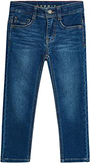 Esprit Boys Jeans In Soft Denim With Adjustable Waistband