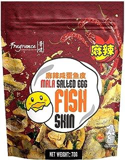 Fragrance Mala Salted Egg Fish Skin,  70 g