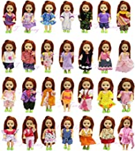K.T. Fancy LOT 10 Handmade Summer Fashion Party Clothes Gown for Barbie's Sister Kelly Size Doll Xmas Birthday Gift