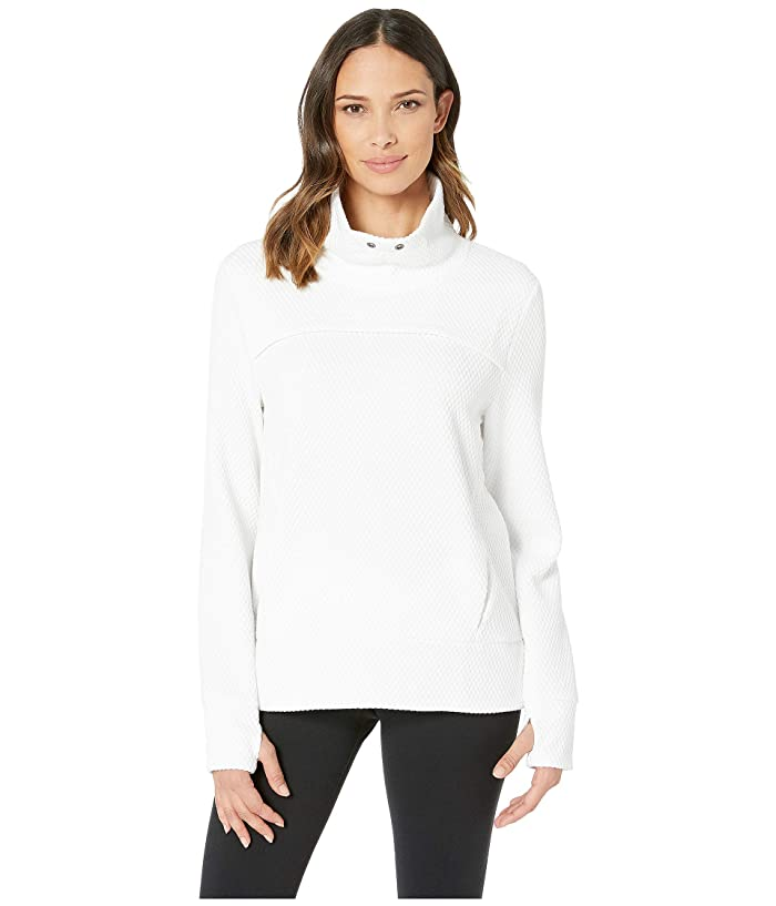 SHAPE Activewear Overcast Popover (White) Women
