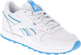 Reebok Classic Leather Women's Athletic Sneaker White Blue