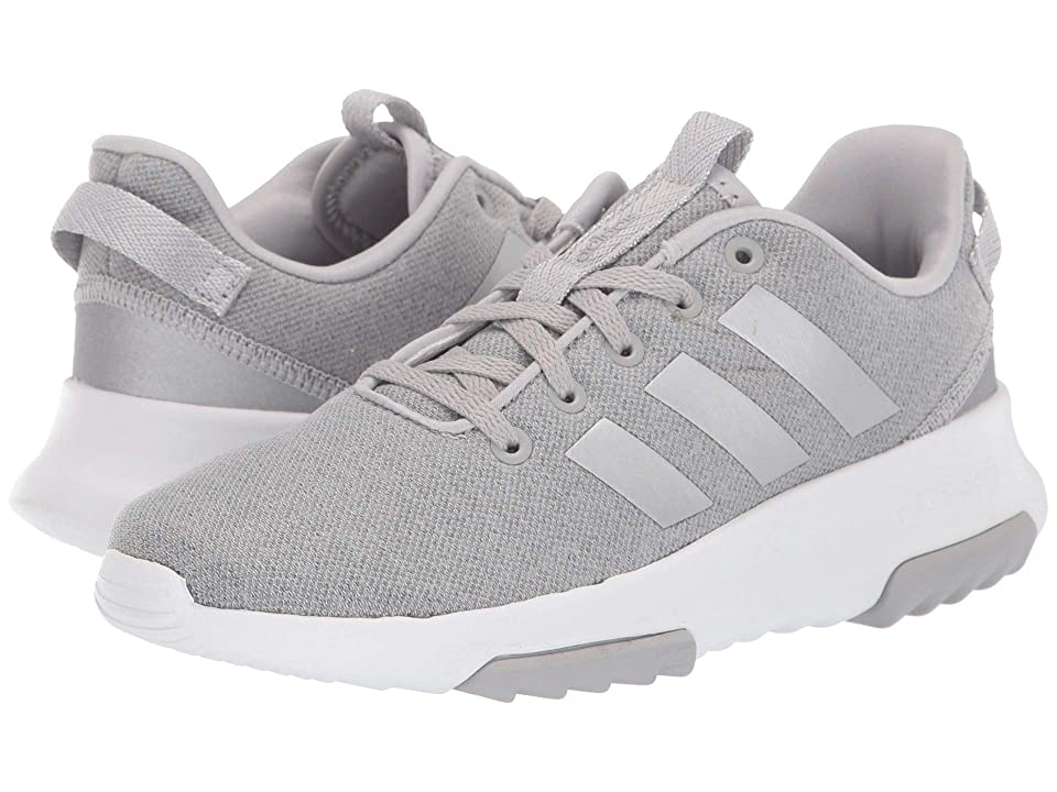 adidas Kids Cloudfoam Racer TR (Little Kid/Big Kid) (Grey Two/Silver Metallic/Footwear White) Kids Shoes