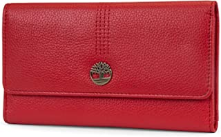 Womens Leather RFID Flap Wallet Clutch Organizer