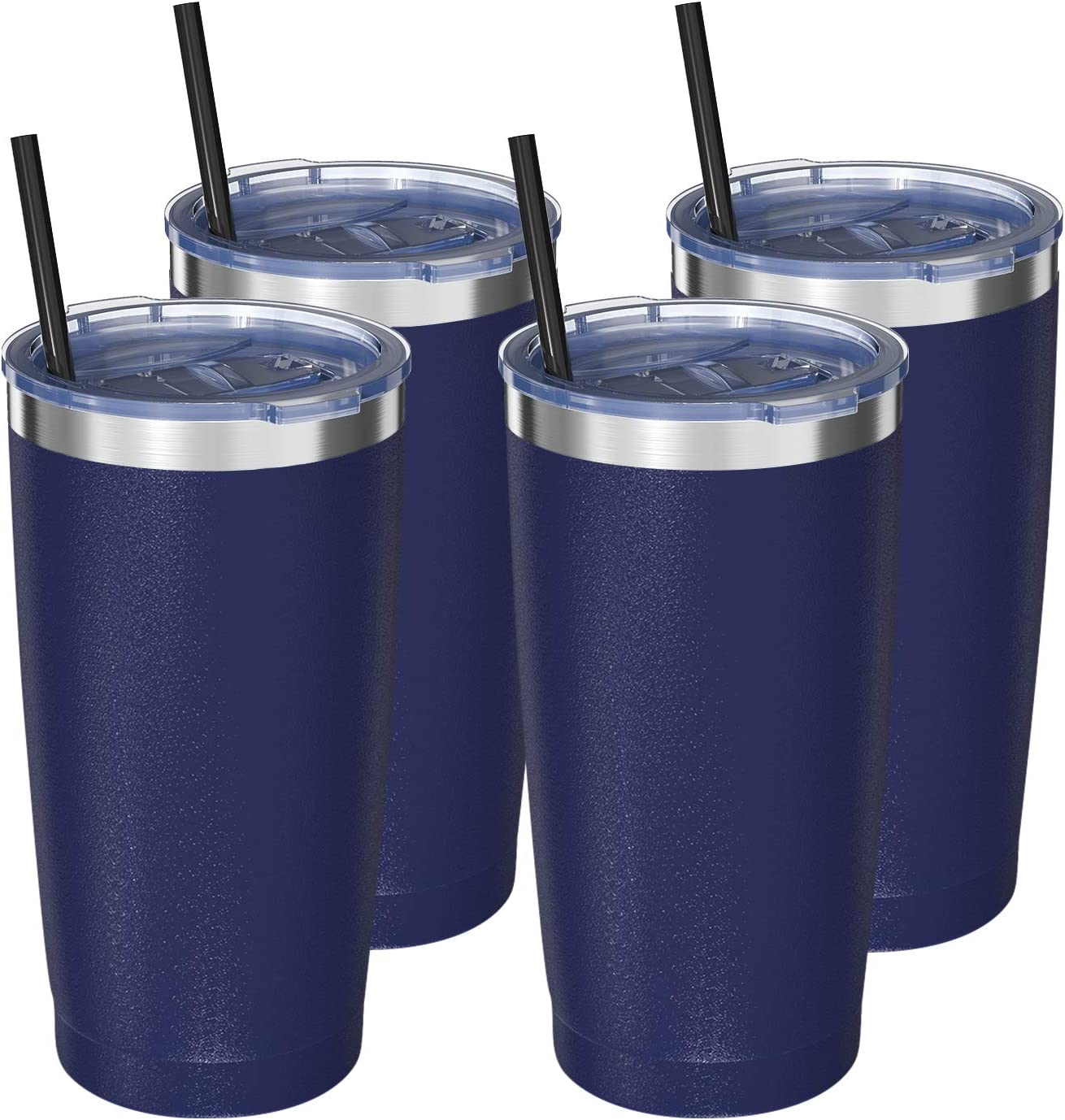 Stainless お気に入 Steel Vacuum Insulated Tumbler Ai 日本限定 with and Straws Lid