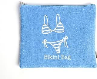 MIAMICA Terry Bikini Bag, Turquoise (Turquoise) - M60003