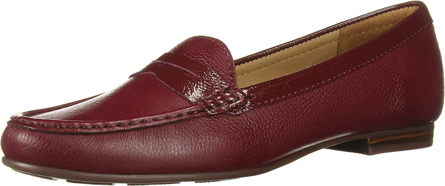 Driver Today's only Nippon regular agency Club USA Women's Leather Made in Loafer Greenwich Brazil