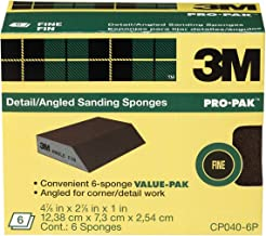 3M Angle Sanding Sponge, 2.875-in by 4.875-in by 1-in