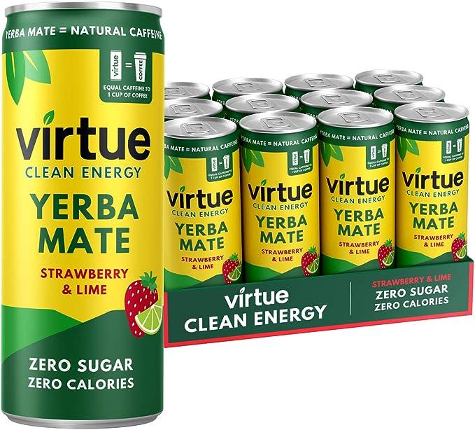718 opinioni per Virtue Yerba Mate- Energy Drink Naturale- Senza Zucchero, Zero Calorie, Vegano,