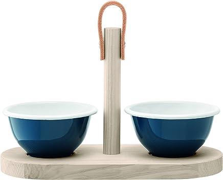 Preisvergleich für LSA International Utility Tapas Duo Set, Wacholder Blau/Esche, 28cm