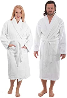 Luxury Terry Cloth Bathrobe - Premium Hotel Robes - Made with 100% Turkish Cotton