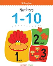 Numbers 1-10: Write and Practice Numbers 1 to 10 (Writing Fun) [Paperback] Wonder House Books Editorial