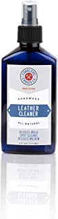 All-Natural Leather Cleaner - Designed to Fights Fresh Stains, Dirt, Build-Up - Easy Spray Application