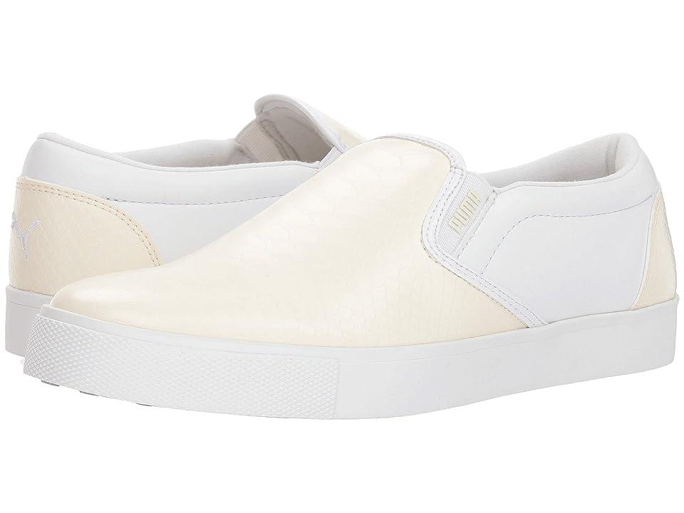 PUMA Golf Tustin Slip-On (Whisper White/Puma White) Women