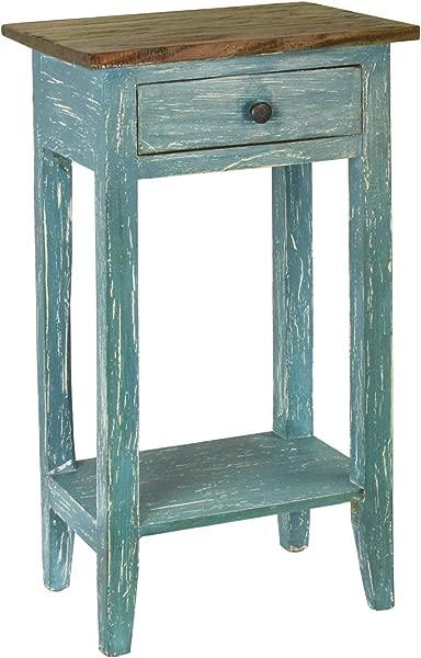 Antique Revival Avignon Side Table Blue