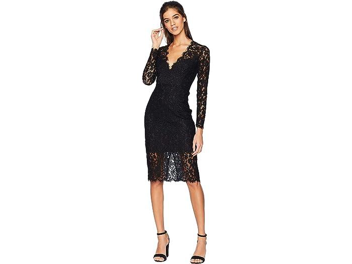 Midnight Lace Dress