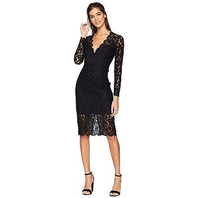Bardot Midnight Lace Dress (Black) Women