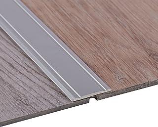 Gedotec Perfil de Transición Autoadhesivo Aluminio - Plata