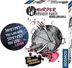 Collectix Murder Mystery Party - Mord am Grill (Spiel) 6 - 8 Spieler + Exit-Sticker