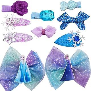 WENTS Disney Frozen fermacapelli 10PCS Tornante per Bambini Multi-Style Clip per Ragazza per Festa Festival Foto Puntelli ...