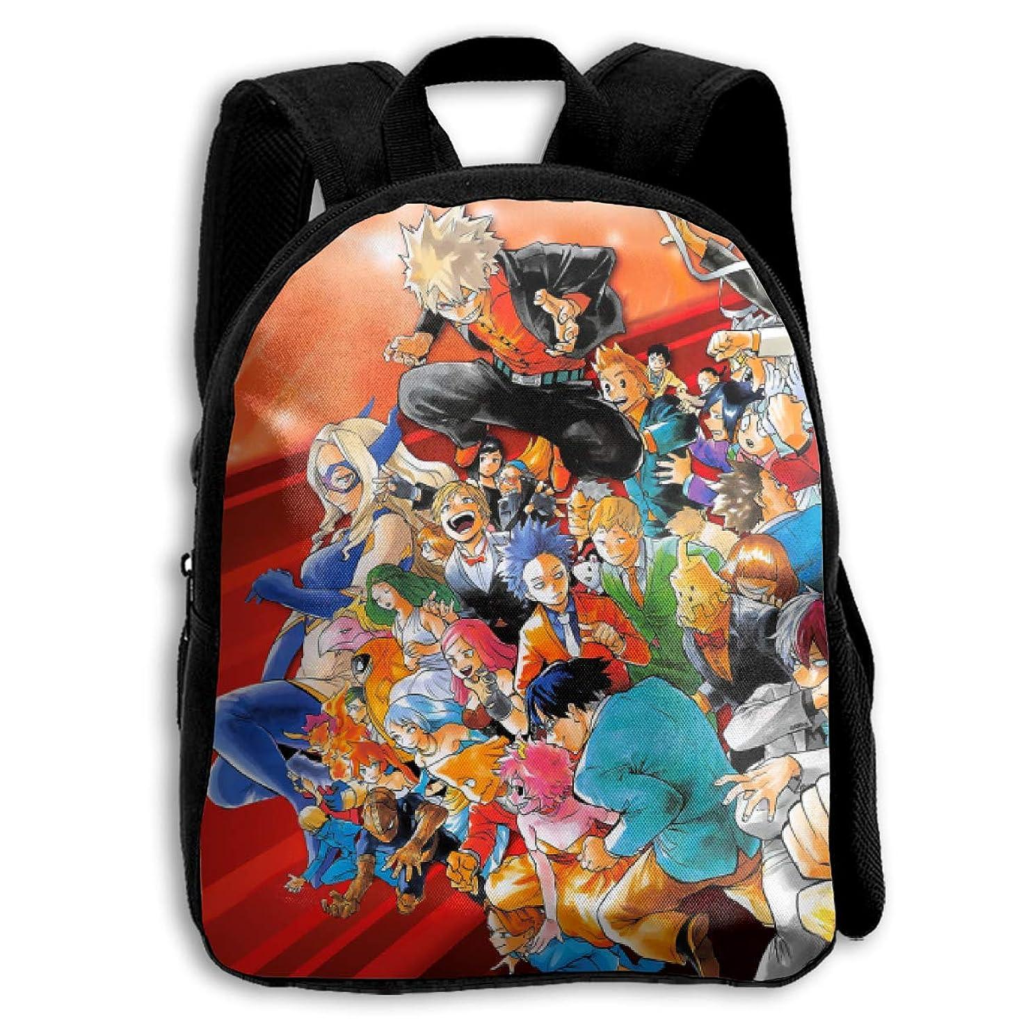 皮側面バランスALL 印刷撥水剤オックスフォード布バックパックこどもポケットスクールバッグ少年少女幼稚園小中学高校毎日の使用旅行する